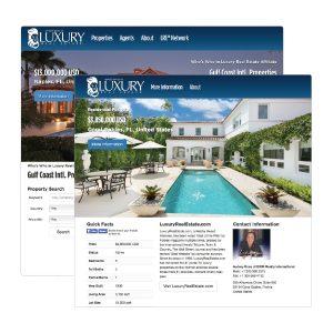 Member, Agent & Property sites